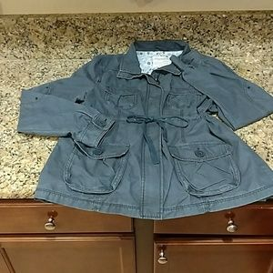 Aeropostale jacket/ cargo jacket/  washed blue